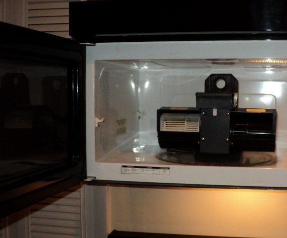 Cool Off Using A Microwave Oven