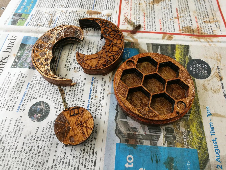 Staining & Wood Finishing