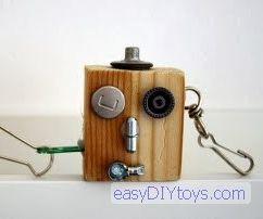 Robot Key Rings