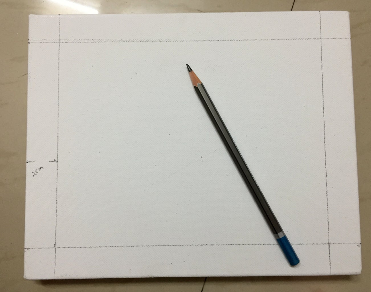 Prepare the Canvas Frame