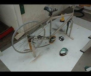 Making a Sanding Belt From an Old Bike