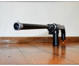 压缩空气-橡子发射器