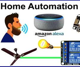 Alexa Smart Home System Using NodeMCU Relay Module