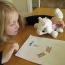 Make a spooky spider counting book with your toddler