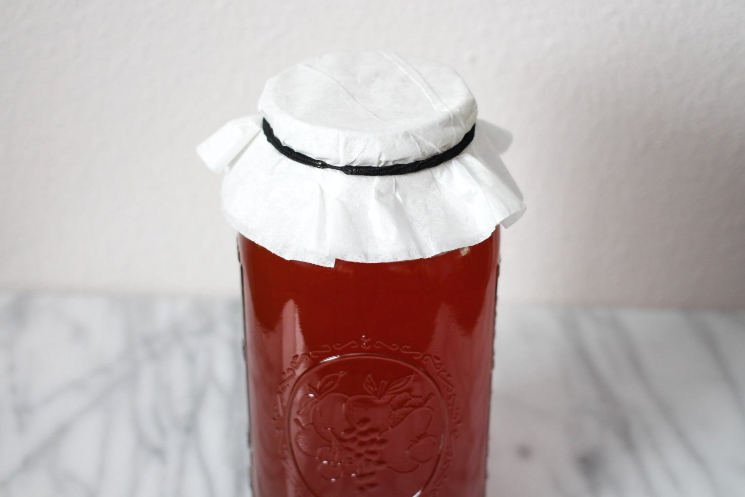 Cover the Canning Jar and Place It in a Dark Warm Location