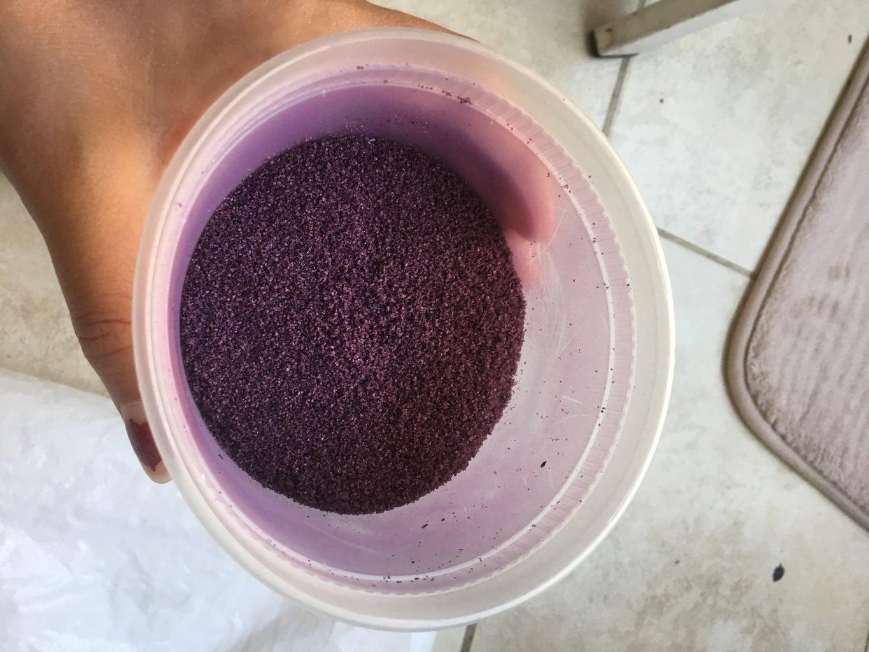 Make Violet Sand