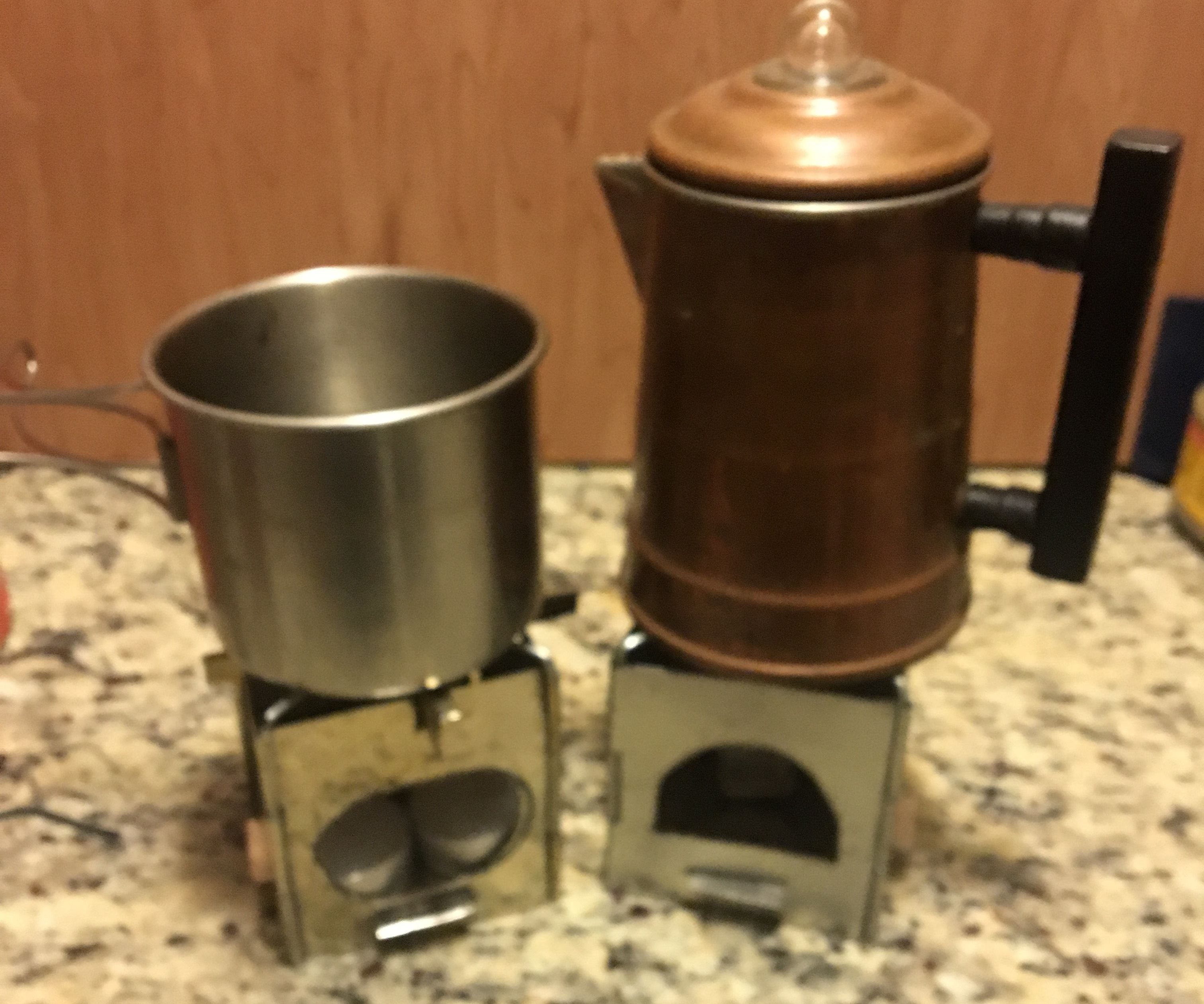 Fold Flat Dollar Mini Camp Stove