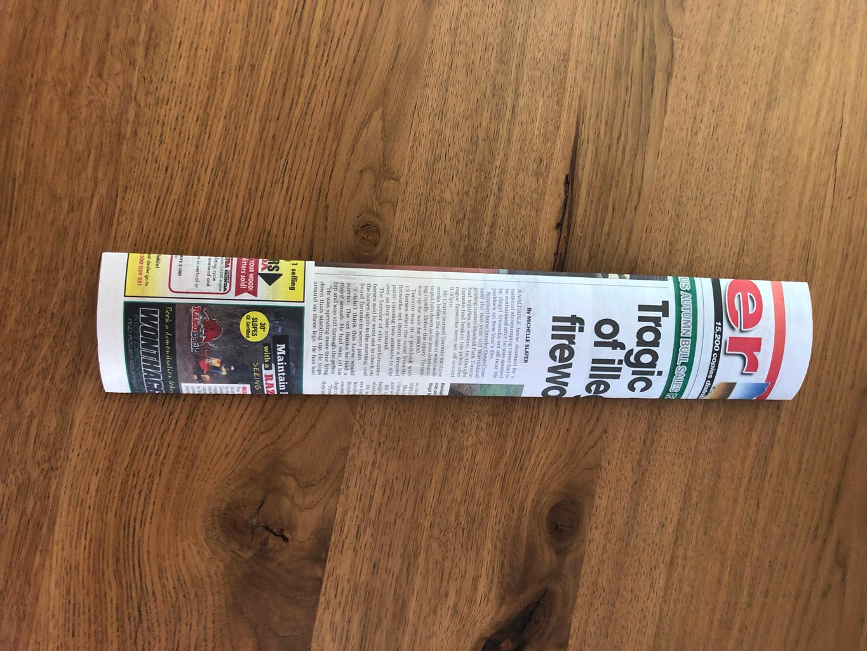 Cut the Newspaper