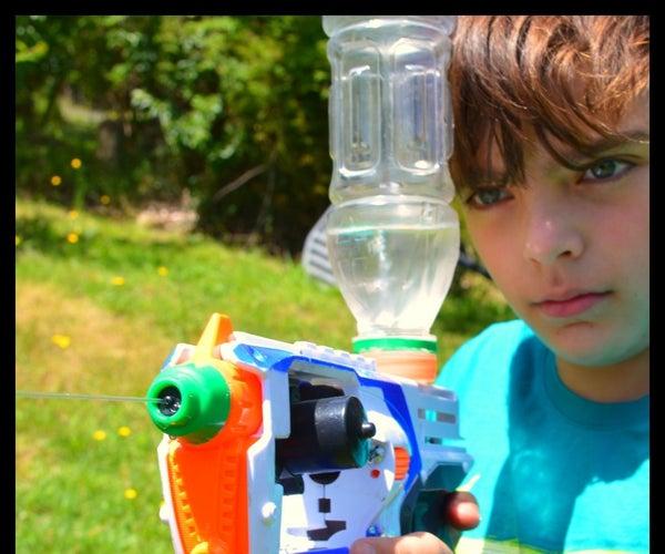 Nerf Hack - Battery Powered Water Pistol V2
