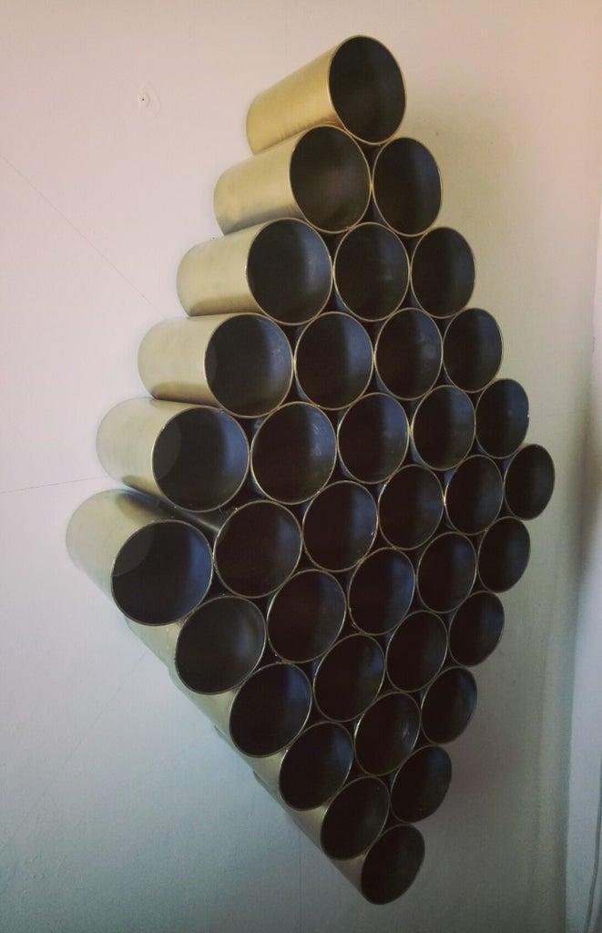 Shoes Rack Using PVC