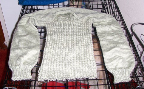 How to Recycle an Old Sweater (or a Botched One) Into Usable Yarn