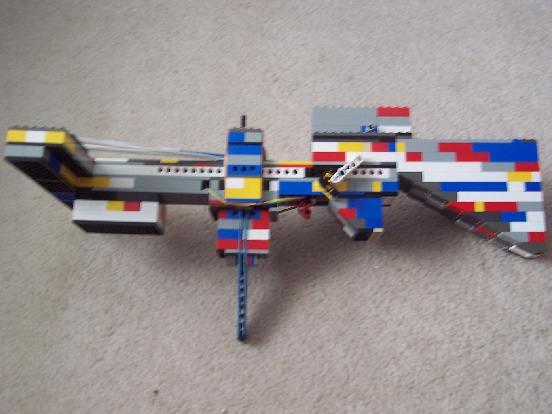The C4.1 Lego Semi-Automatic Crossbow