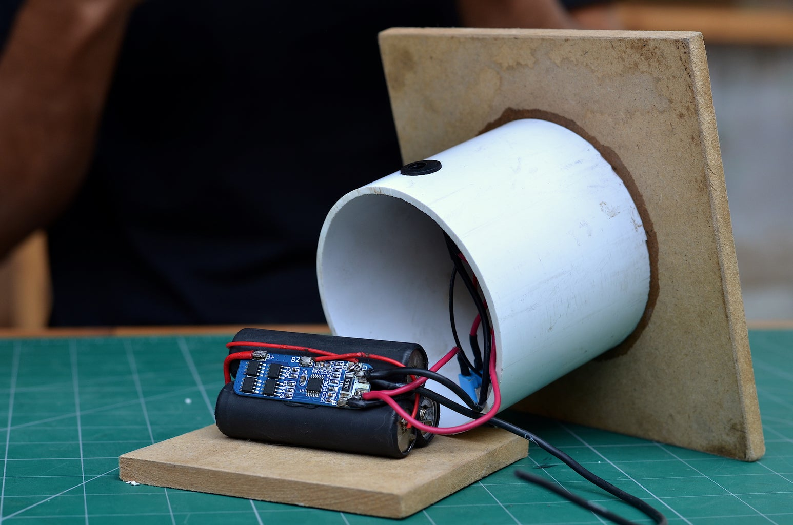 Adding the Button and Charging Jack