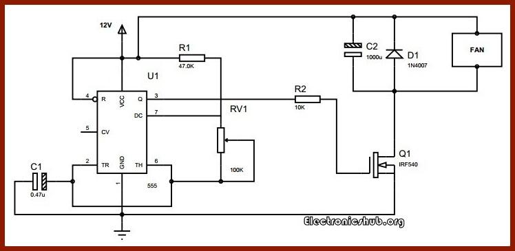 DC Motor Speed Control using PWM