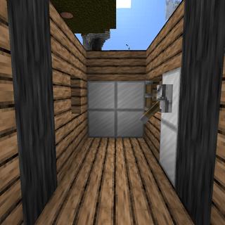 Minecraft Redstone 2x2 Piston Door