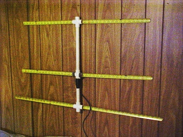 Radio Direction Finding Antenna for VHF