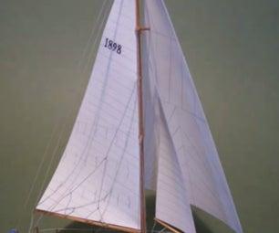 My Mini Model Ship!
