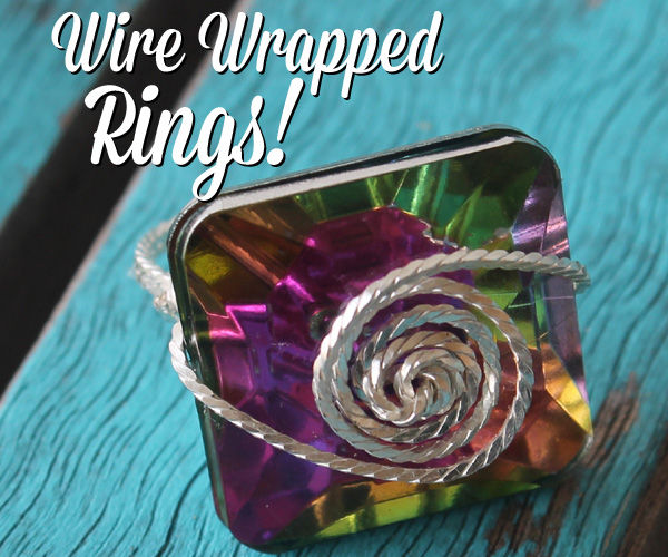 Wire Wrapped Rings!