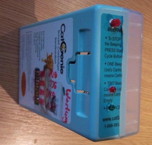 CatGenie: a Smart, Resettable SaniSolution Cartridge