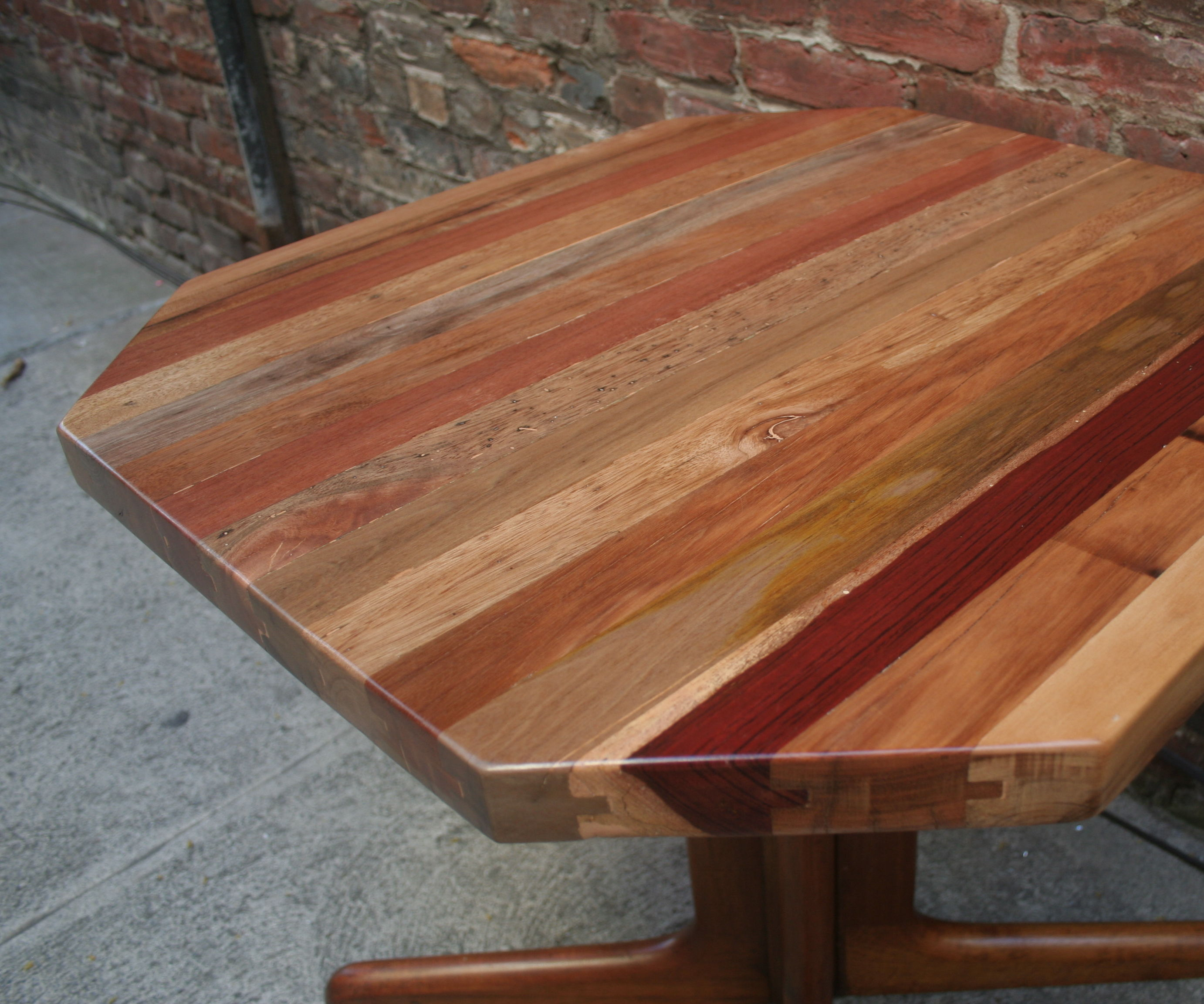 How to Make a Reclaimed Tongue & Groove Table Top
