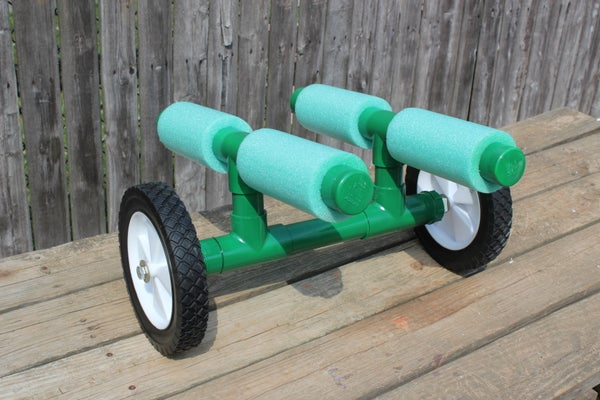 Portage Cart for Canoes and Kayaks