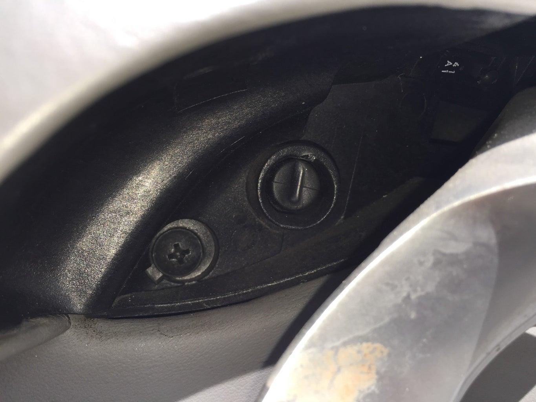 Remove Screw From Behind Interior Door Handle