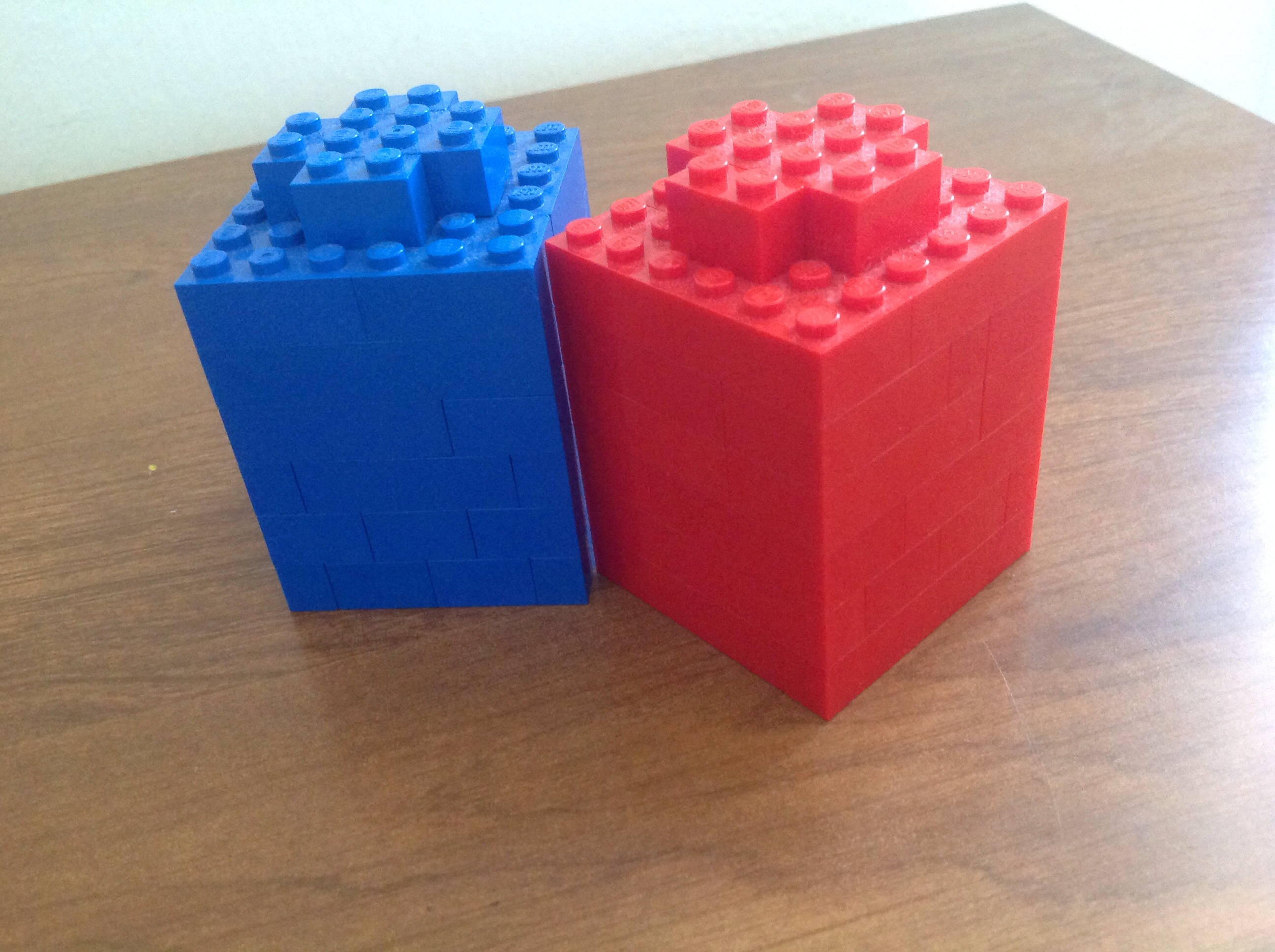 Larger Than Life Lego 1x1 Bricks