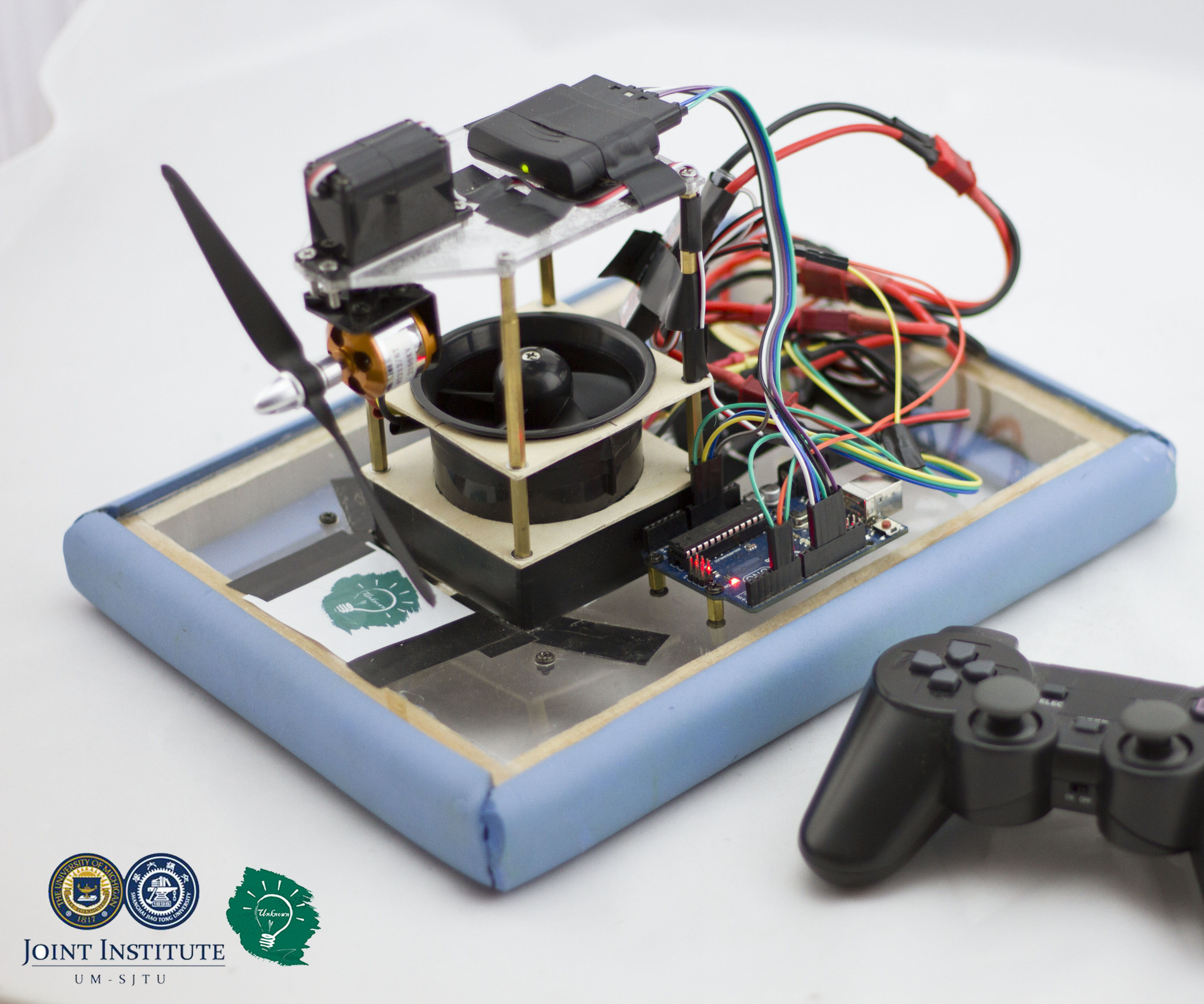 DIY Bluetooth Controlled Hovercraft