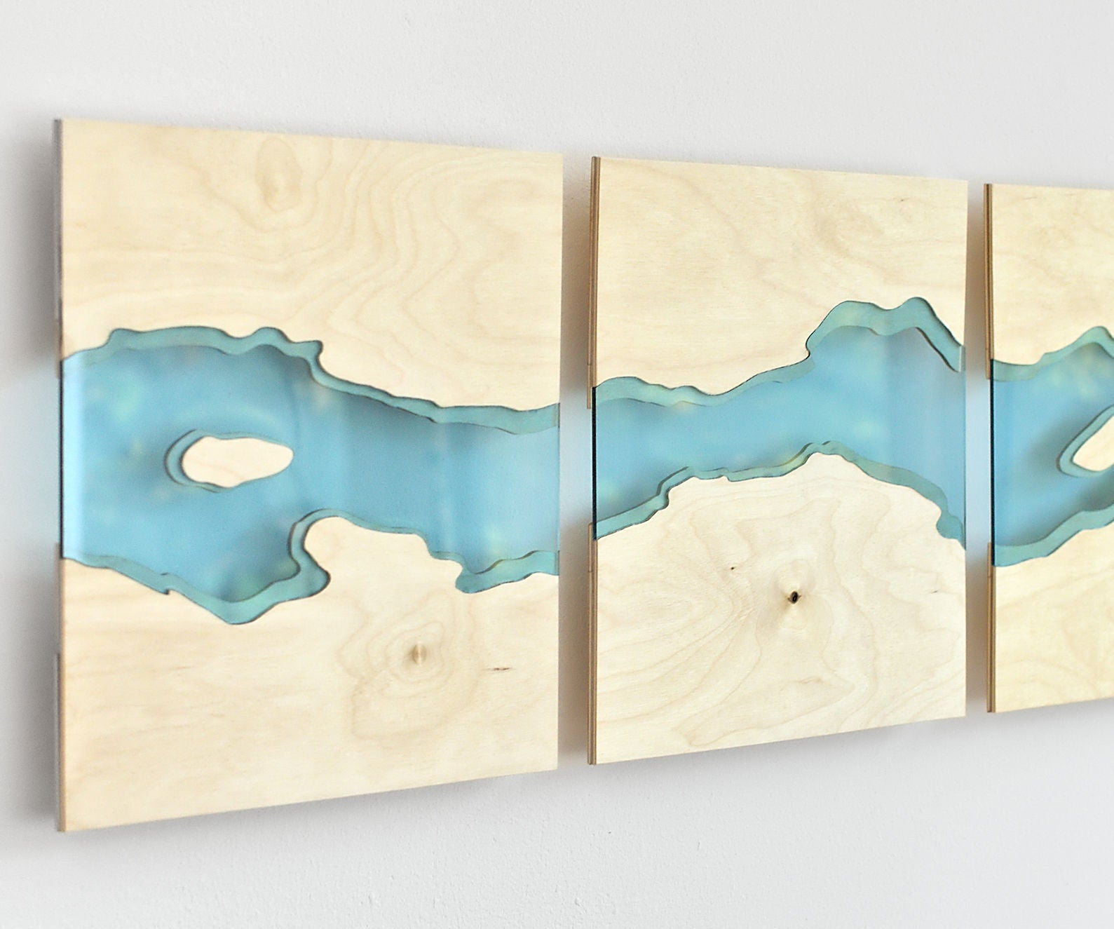 Laser Cut River Wall Art 12 Steps With Pictures Instructables