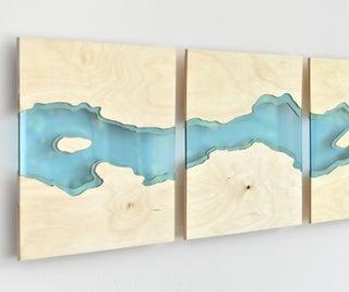 Laser Cut River Wall Art