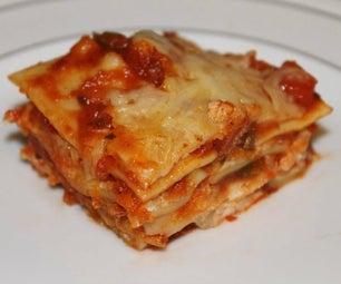 Easy Lasagna - No Boil - Regular Noodles