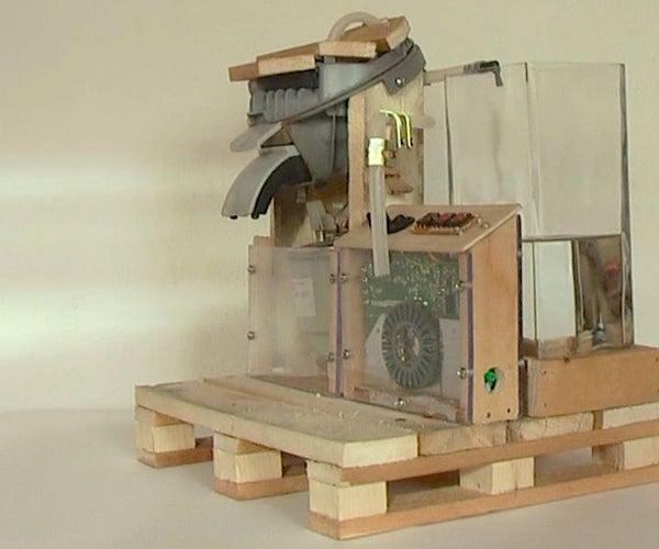 Pallet Coffee Machine