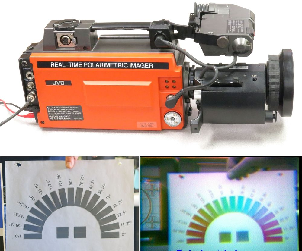 Convert a 1980s Video Camera Into a Real-Time Polarimetric Imager