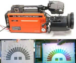 Convert a 1980s Video Camera Into a Real-Time Polarimetric Imager
