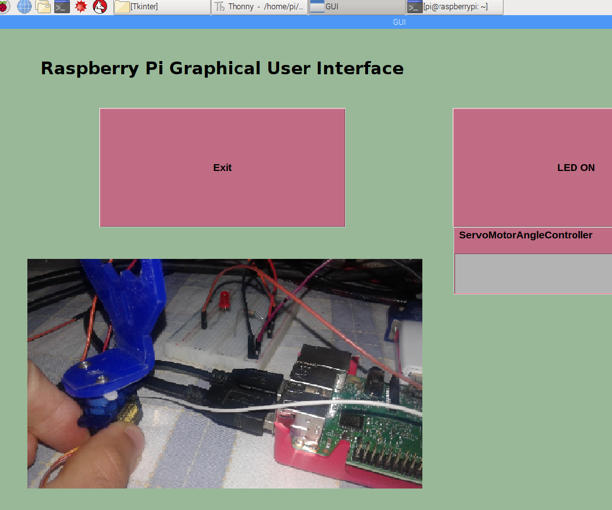 Get Started With Raspberry PI GUI