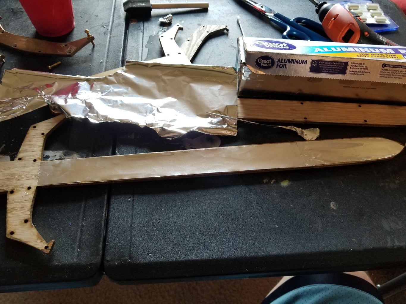 Lighting and Partial Assembly