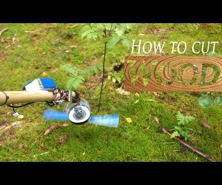 DIY Powerful Wood Cutter