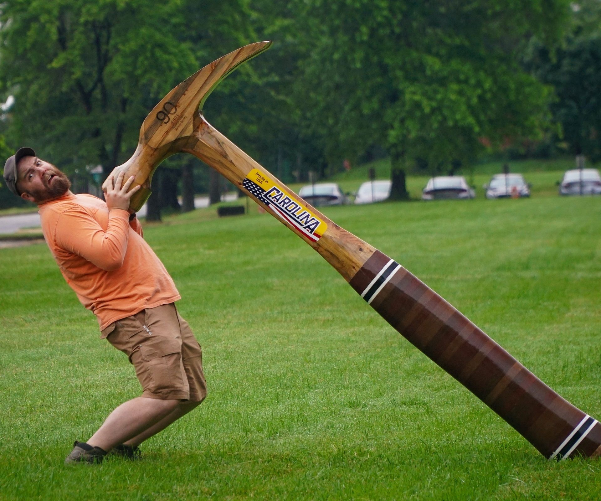 Giant Wood Hammer