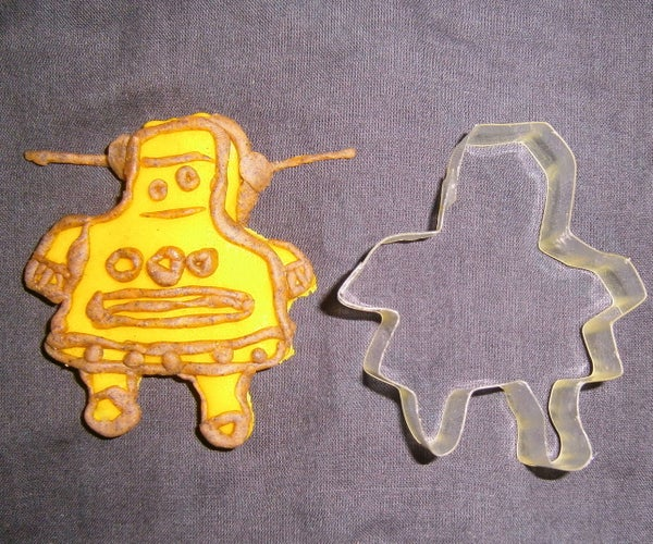 DIY Cookie Cutter for an Instructables Robot