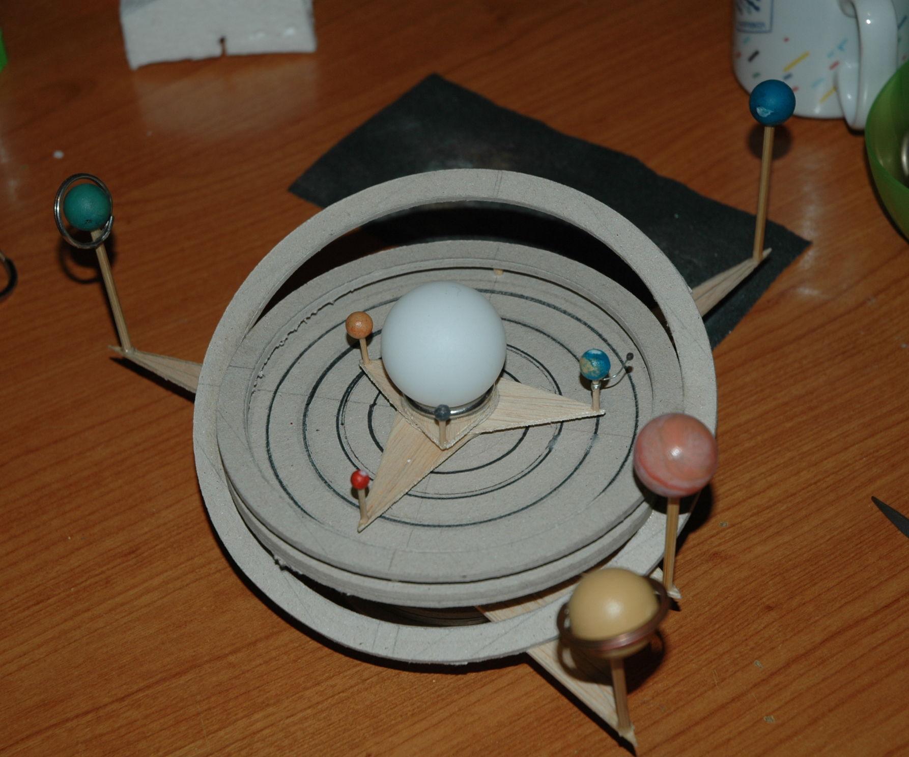 Solar System Orrery