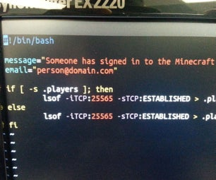 Make Your Minecraft Server Tell You When Players Are Online