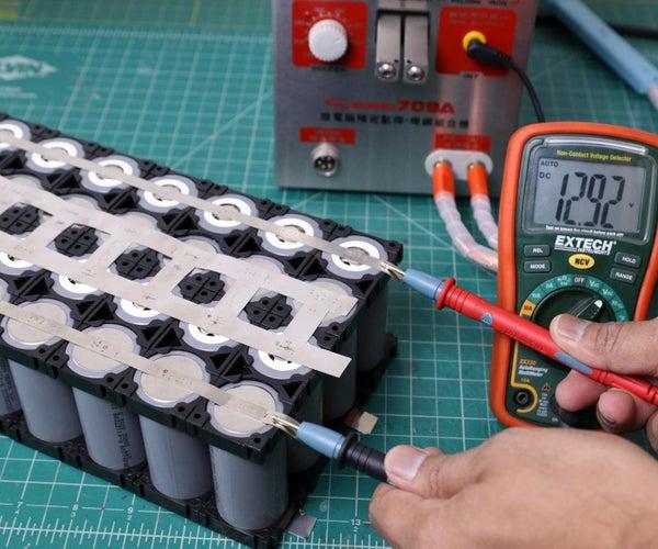DIY LiFePO4电池组