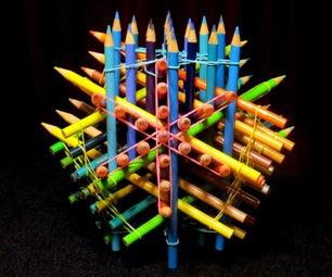 76 Pencil Sculpture