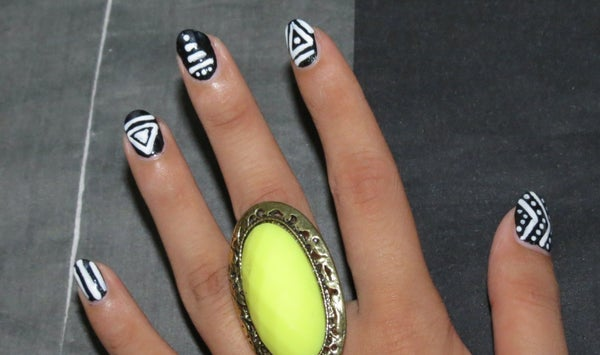 Tribal Inspired Nails..