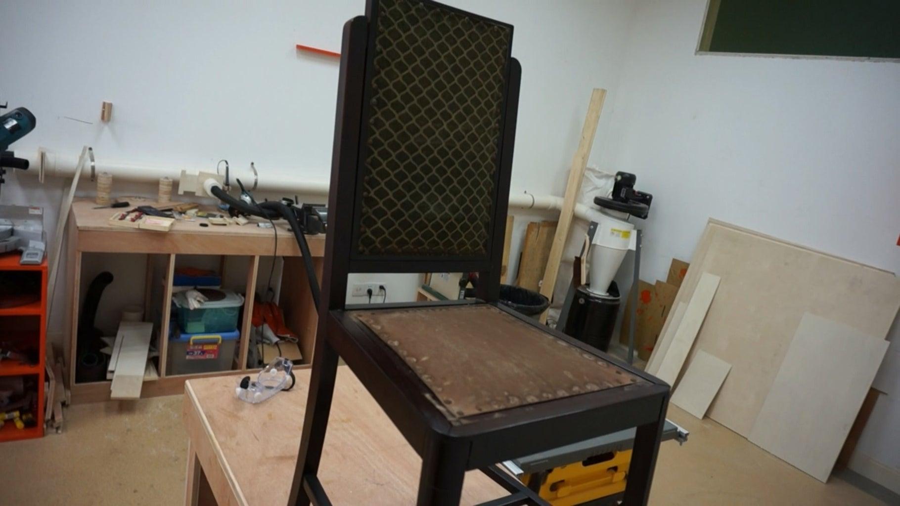 Redwood Chair Restoration
