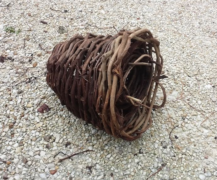 Primitive-Style Survival Fish Basket Trap