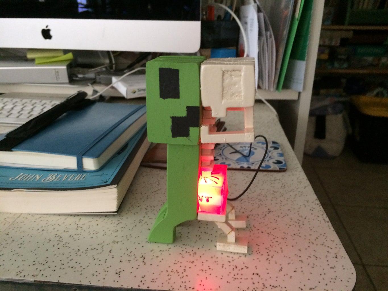 DIY USB Creeper Nightlight
