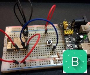 ESP8266-12 Blynk Wireless Simple Virtual Led