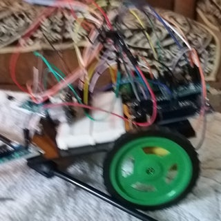 IOT BASED GESTURE CONTROLLED ROBOT