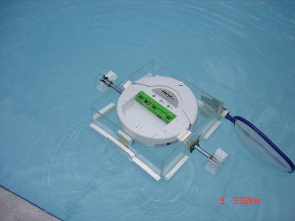 IRobot Create Pool Skimmer/Cleaner